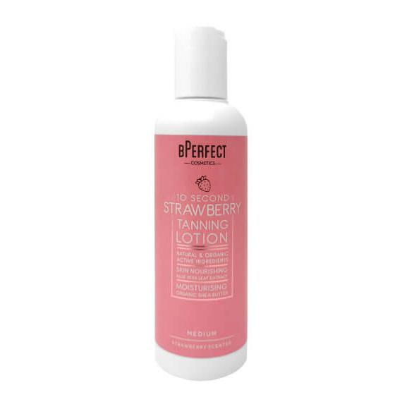 Bperfect 10 Second Strawberry Tanning Lotion + FREE MITT