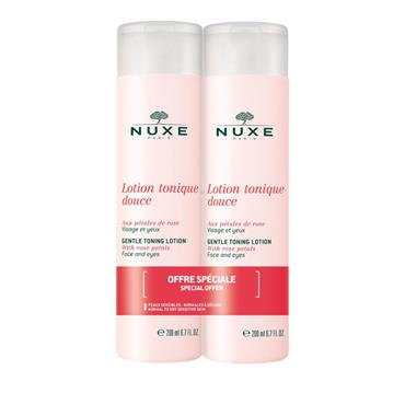 Nuxe Gentle Toning Lotion 200ml Twinpack