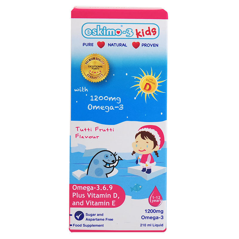 Eskimo-3 Kids Omega 3.6.9 and Vitamin D3