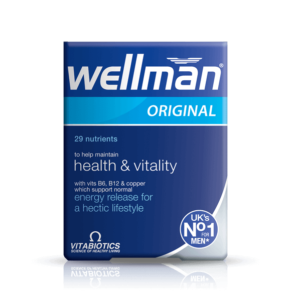 Vitabiotics Wellman Original 30
