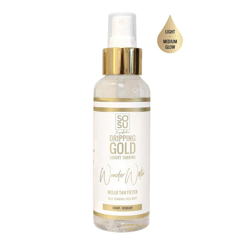SOSU By Suzanne Jackson Dripping Gold Wonder Water Tanning Mist