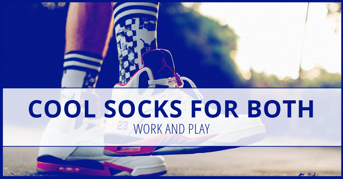 Cool Socks For Both Work And Play
