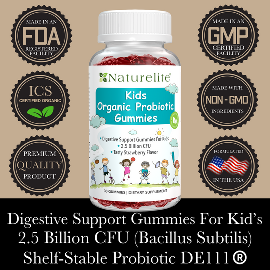 Probiotic Gummies For Kid's & Adults