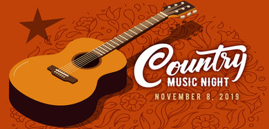 Country Music Night - Friday, November 8