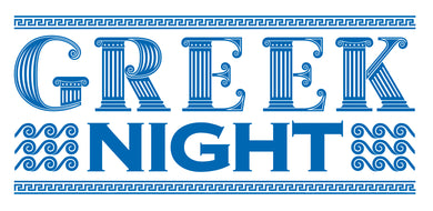 Greek Night - Friday, May 24