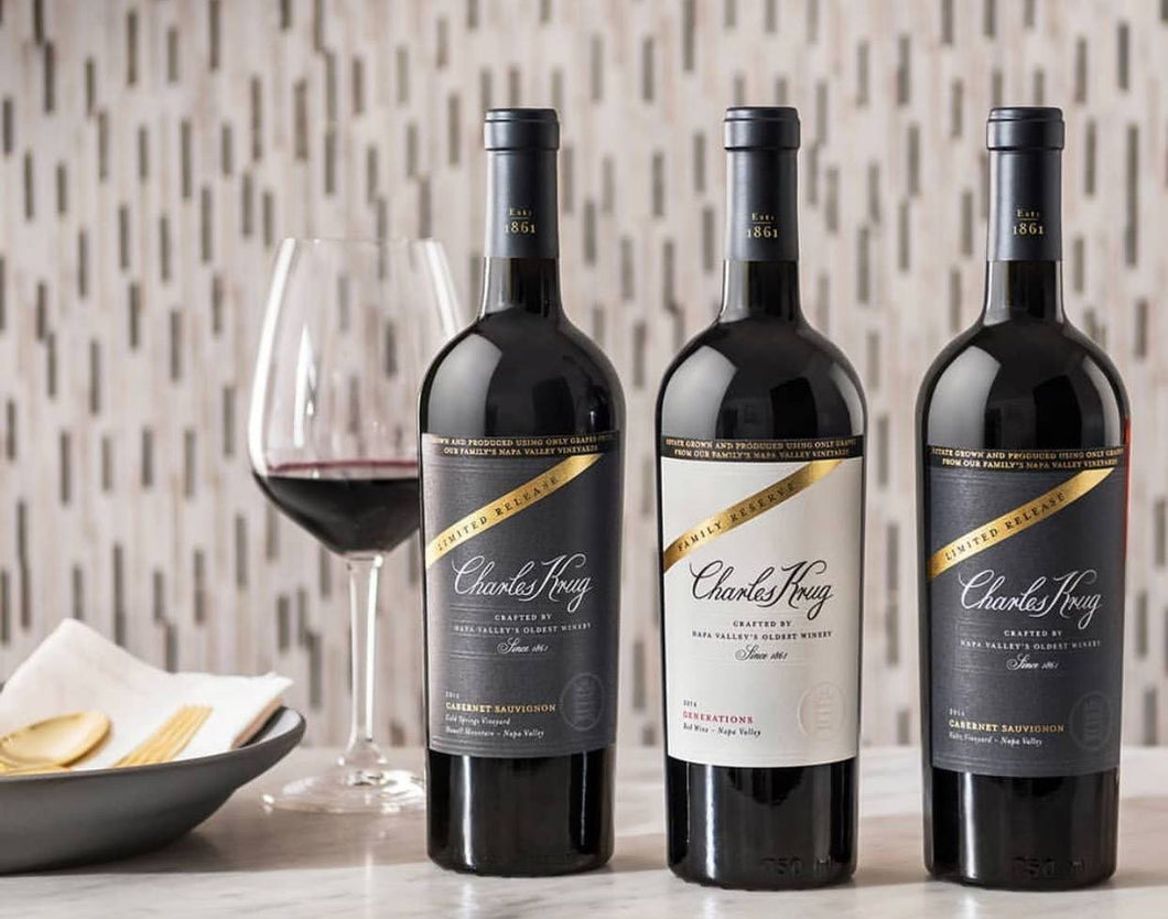 Charles Krug Winemaker Dinner - March 19, 2019 - 6:30 - 9:30 PM
