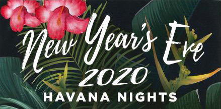Havana Nights New Year's Eve 2020 - Table of 10