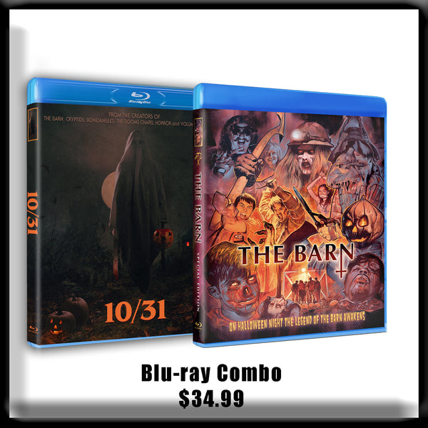 10/31 and The Barn - DVD or Blu-ray Combo