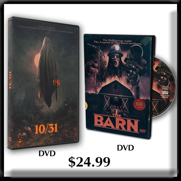 10/31 DVD and The Barn DVD or Blu-ray Combo