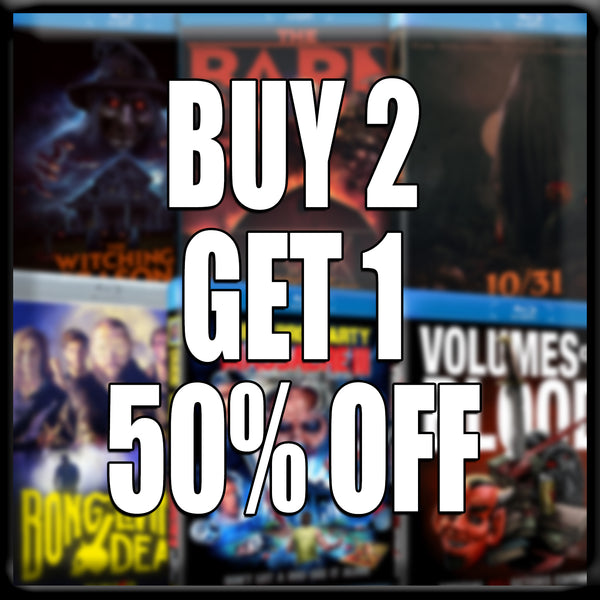 BLACK FRIDAY SPECIAL - BUY 2 BLU-RAYS GET THE 3RD 50% OFF