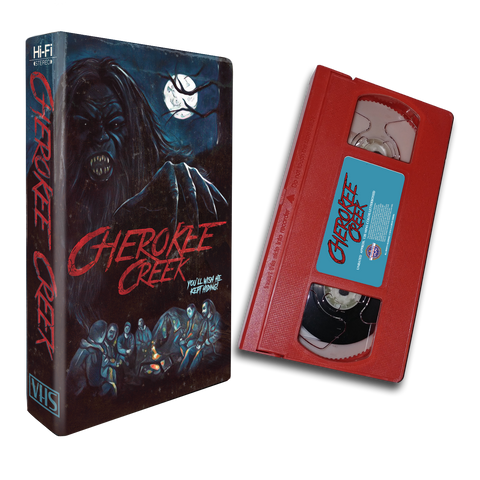 Cherokee Creek (RED VHS)
