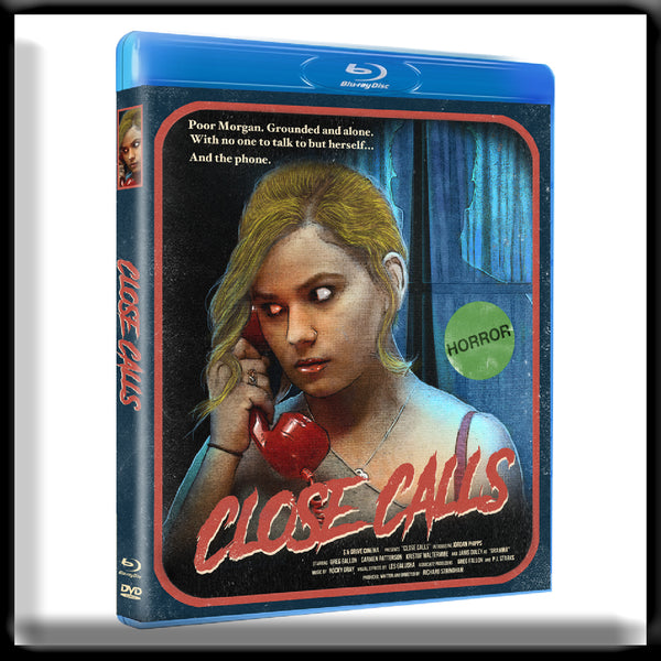 Close Calls - Special Collectors Edition (Dual Layer Blu-ray+DVD) SIGNED + Slip Cover