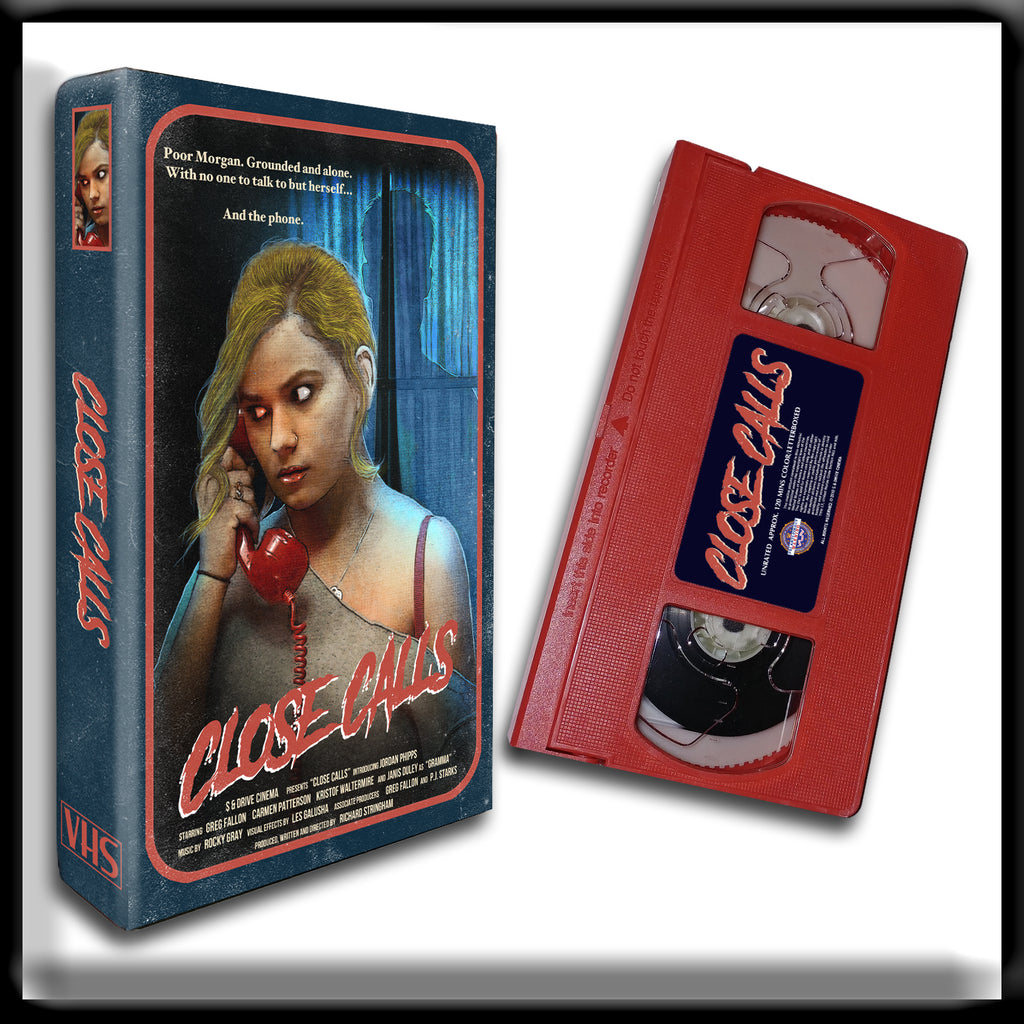 Close Calls (SIGNED RED VHS) - PRE-ORDER