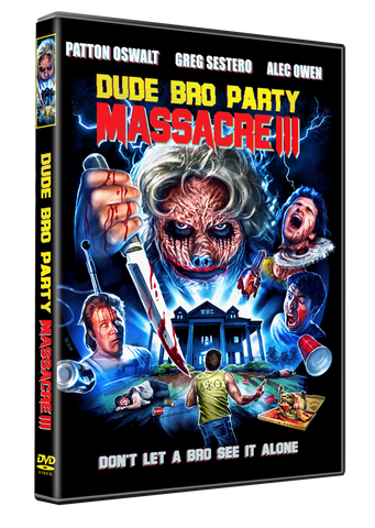 Dude Bro Party Massacre III - (DVD)