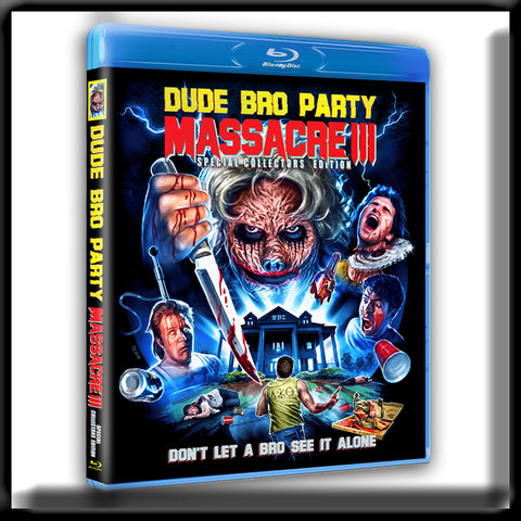 Dude Bro Party Massacre III - Special Collectors Edition (DVD)