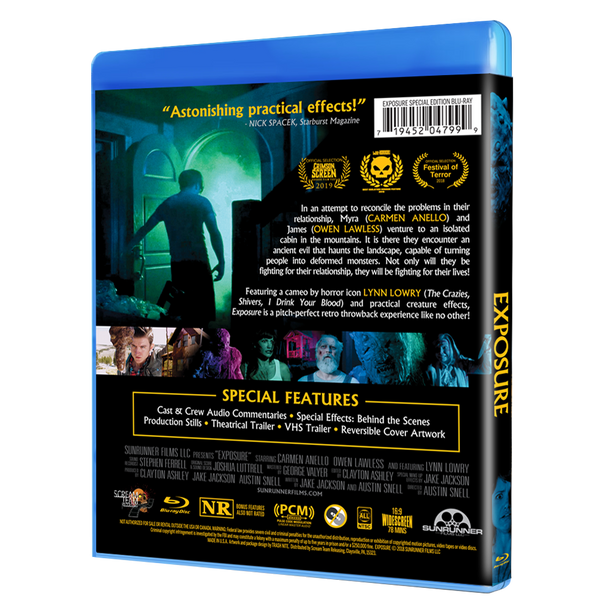 Exposure Special Collectors Edition Blu-ray