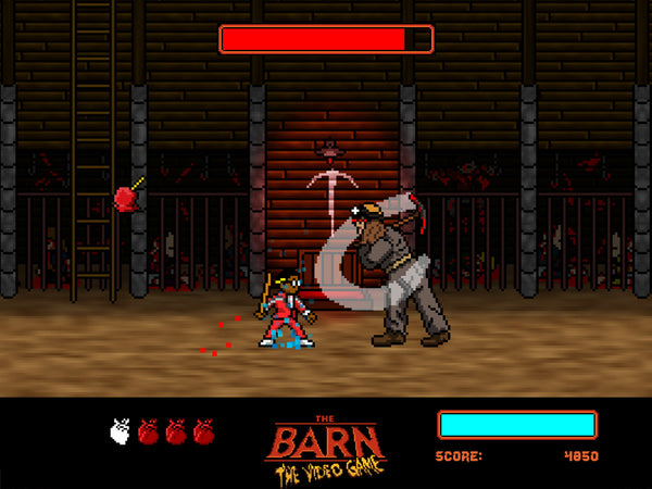 The Barn - Video Game Download - PC (PROMO CODE ONLY - NOT FOR PURCHASE)