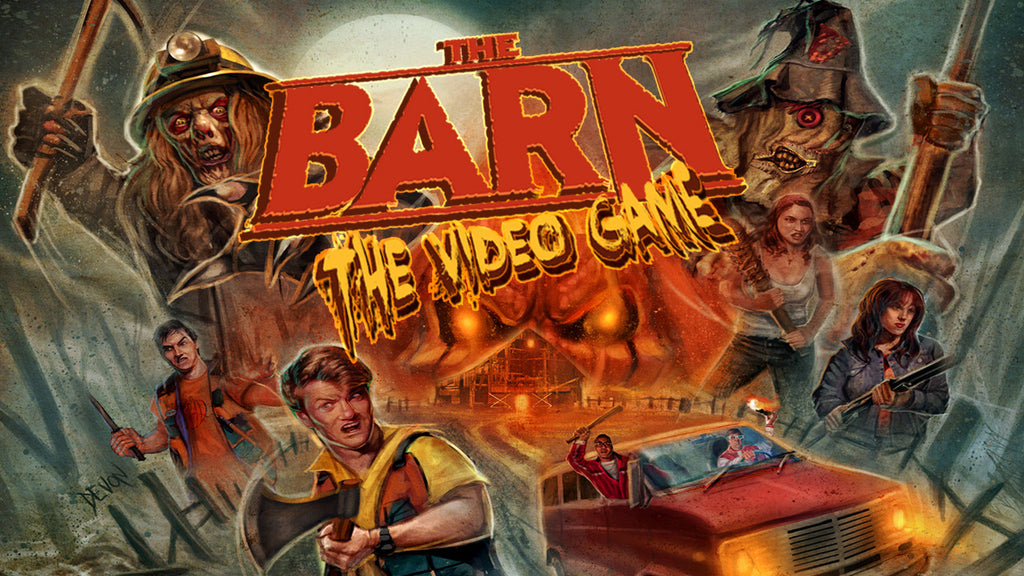 The Barn Video Game Digital Pc And Mobile Download Scream Team
