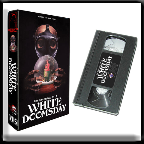I'm Dreaming of a White Doomsday (VHS) SIGNED + Poster