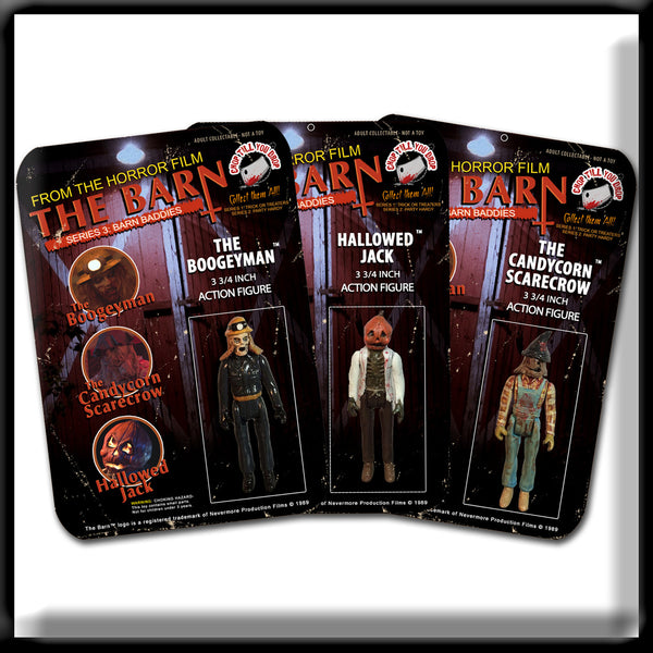 PRE-ORDER Action Figures - Barn Baddies (Set of 3)