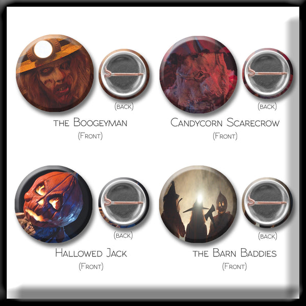 Button Pack - Set of 8