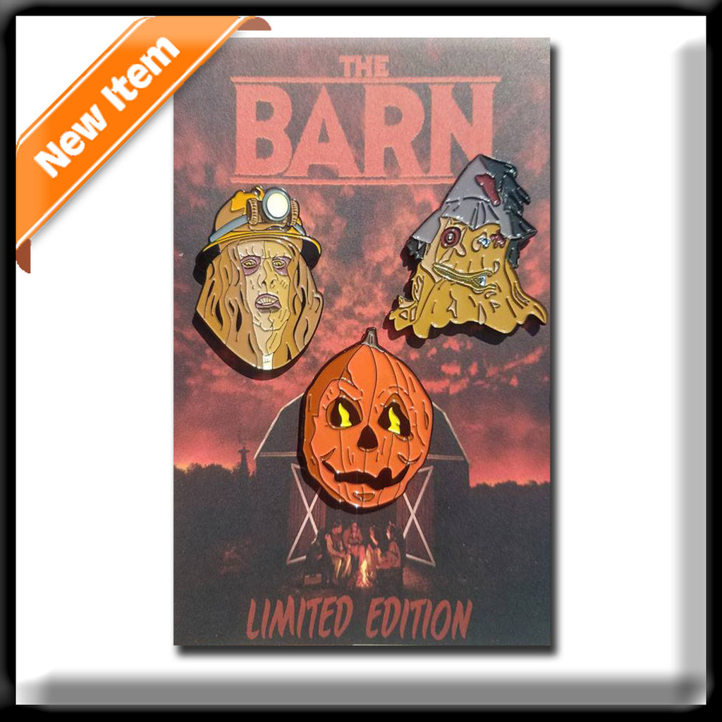 The Barn- Enamel Pins (Set of 3)