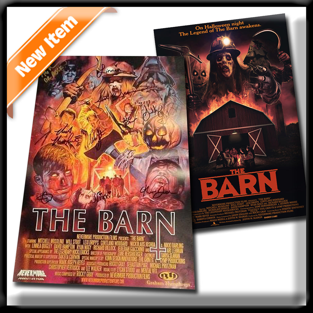 The Barn - 2 Signed Posters (11x17)