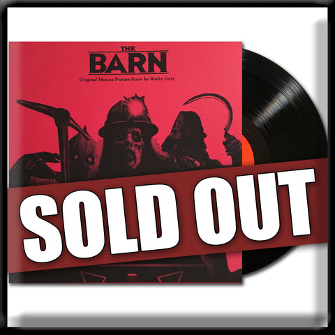 The Barn - Soundtrack - Vinyl Record Autographed by Composer 'Rocky Gray'