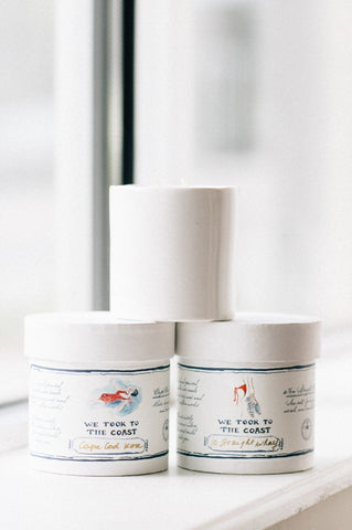We Took to the Coast Candles-Back in Stock - Augusta Twenty