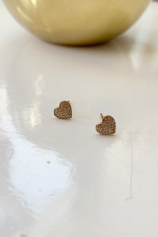 Flirt Gold Diamond Earrings