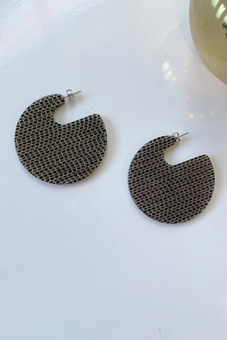 Camille Earrings-Black Multi - Augusta Twenty
