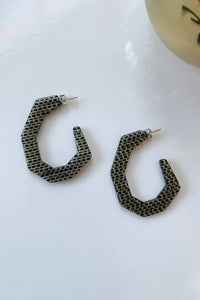 Baby Factor Earrings-Black Multi - Augusta Twenty
