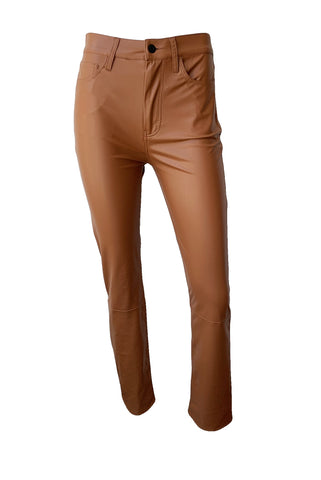 E Cig Faux Leather Pants
