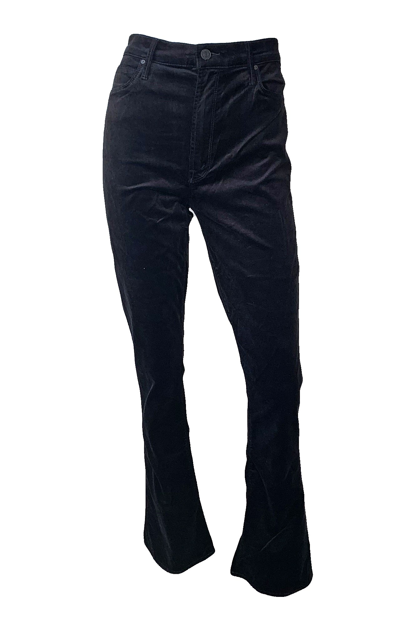 High Waisted Runaway Velvet Jeans-Limited Sizes Available - Augusta Twenty