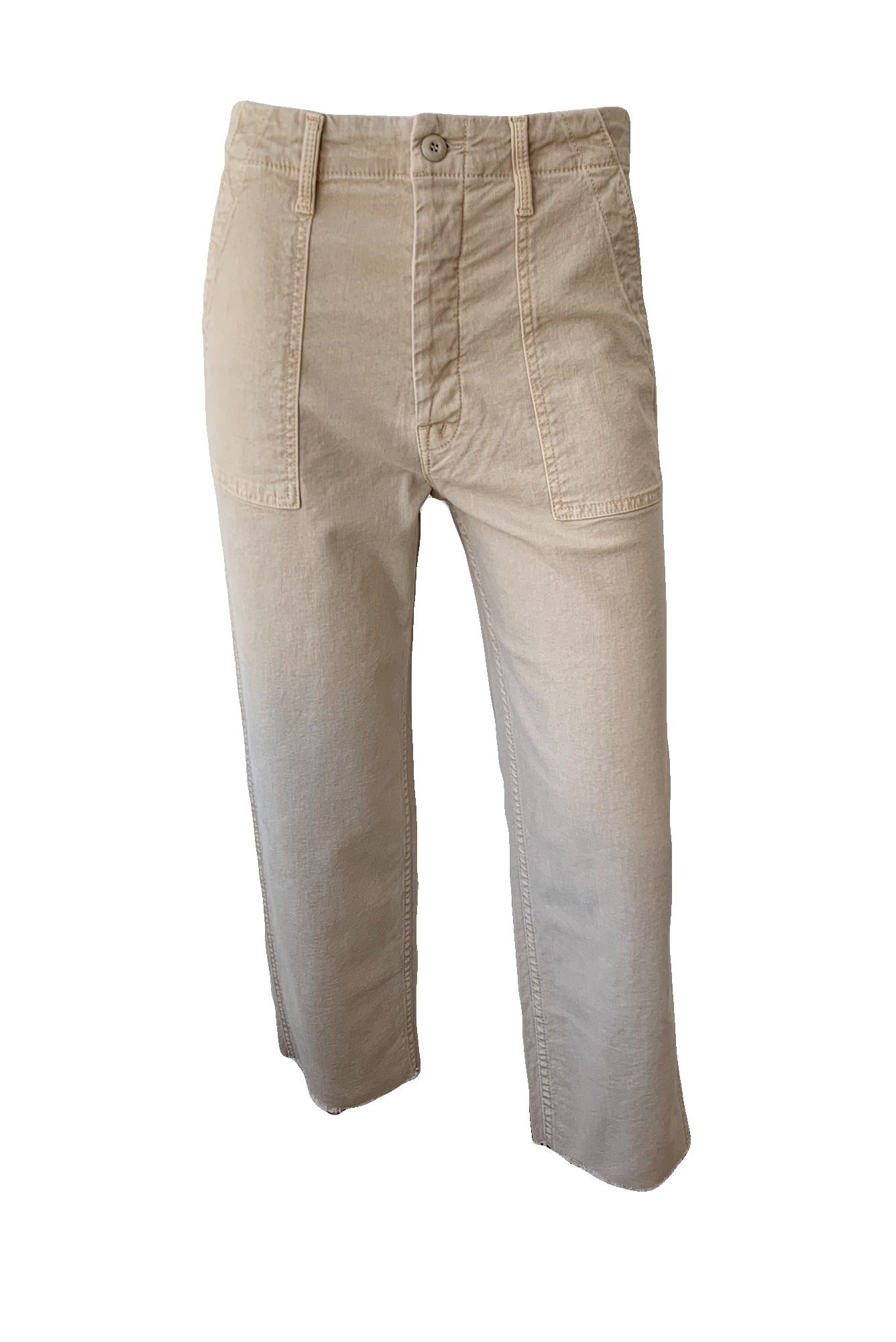 Patch Pocket Private Ankle Pants