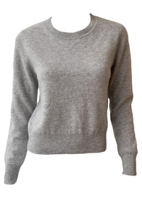 Long Sleeve Cropped Pullover - Augusta Twenty