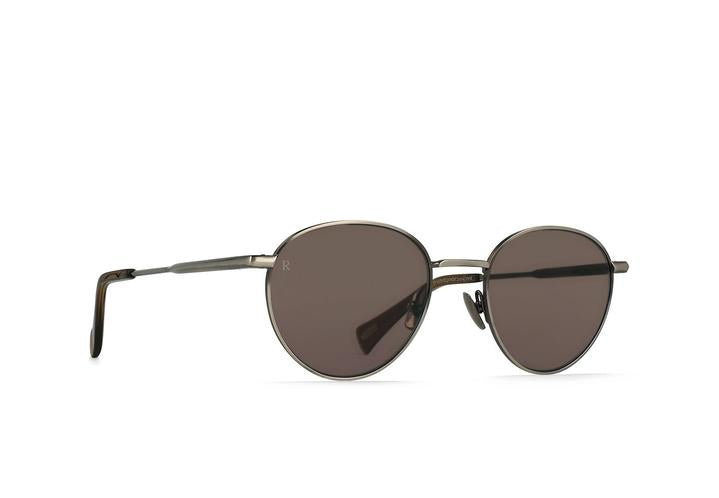 Andreas Polarized Sunglasses-Brushed Pewter