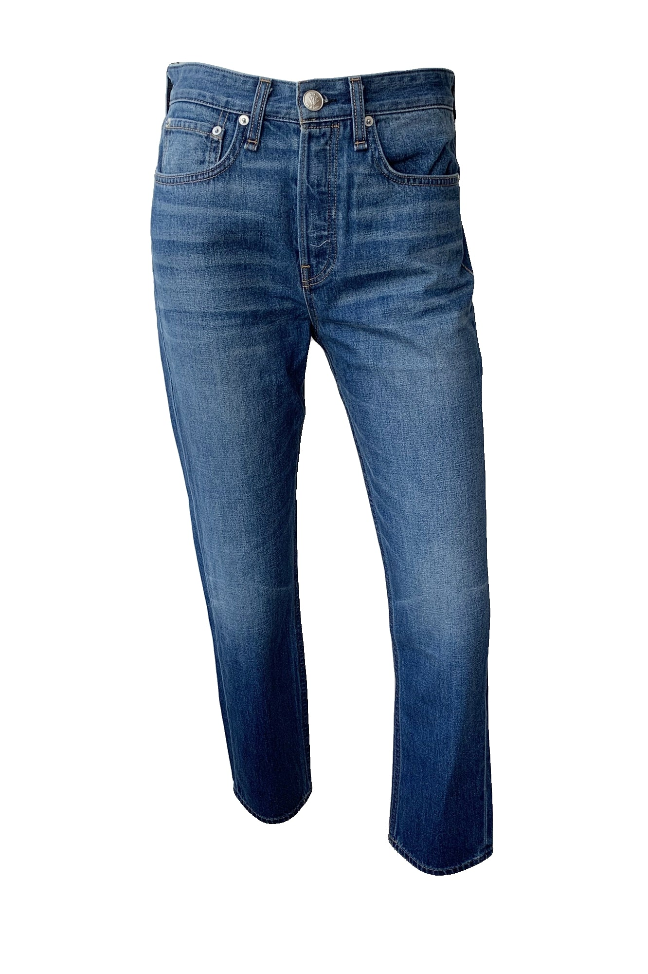 Maya High Rise Ankle Slim Jeans - Augusta Twenty