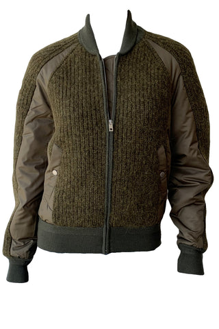 Oakes Sweater Bomber Jacket