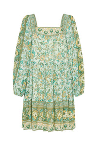 Folk Song Tunic-Sage