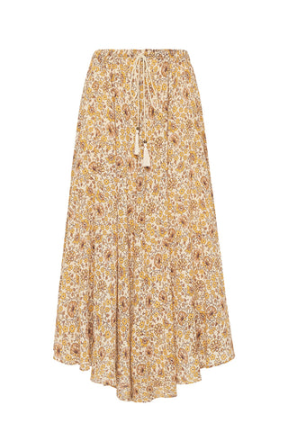 Sundown Kerchief Skirt-Spice