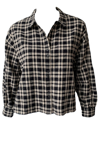 Twilight Plaid Top - Augusta Twenty