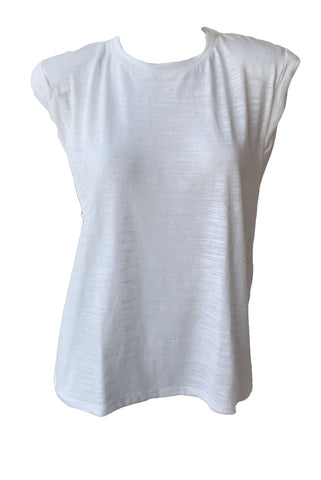 Strata Slub Shoulder Pad Muscle Tee