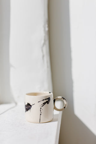 Splattered Circle Mug-Back in Stock