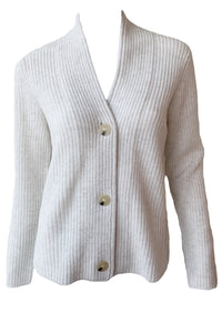 Raised Collar Cardigan