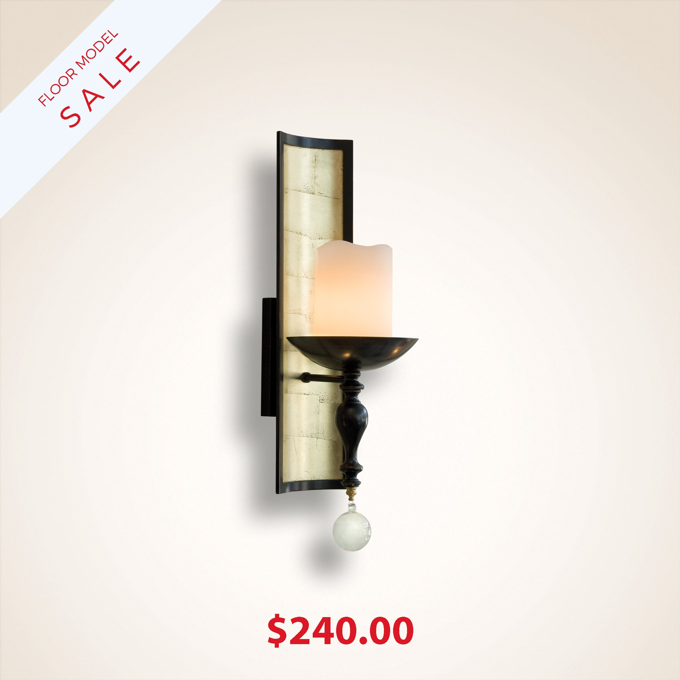 Sorrento Nude Wall Sconce