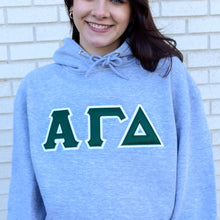 Traditional 2 Layer Sorority Tackle Twill Hoodie
