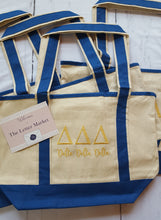 Sorority Tote Bag-Bid Day 2017 - The Letter Market