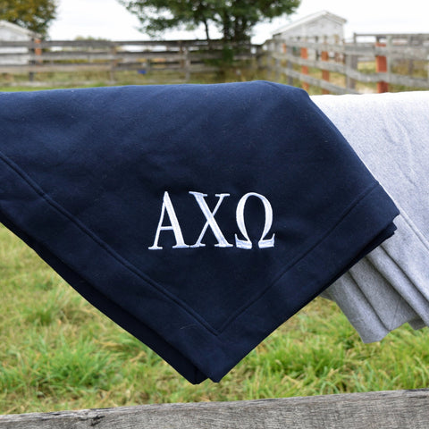 Sorority/Monogrammed Blanket - The Letter Market
