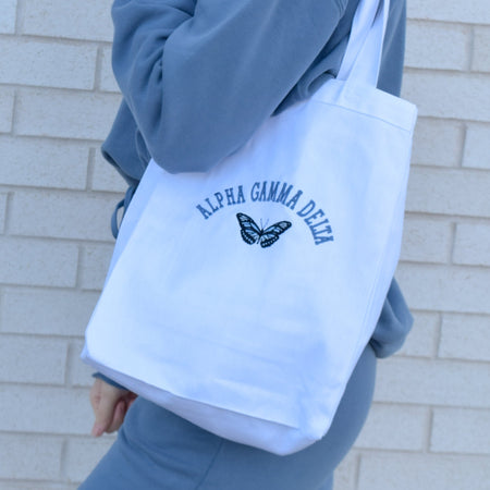 Butterfly Sorority Market Tote